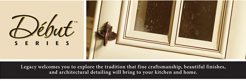 Legacy welcomes you to explore the tradition that fine craftsmentship, beautiful finishes and architectural detailing will  bring to your kitchen and home